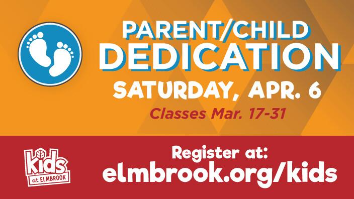 Parent Child Dedication Class