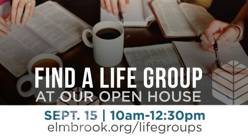 life group open house